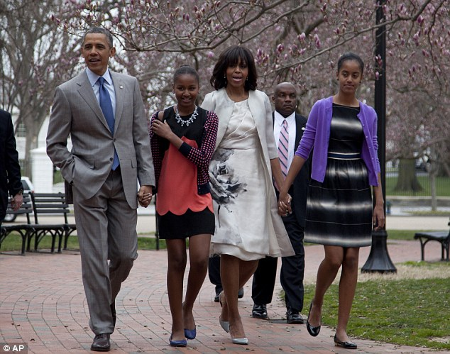 obama and family easter