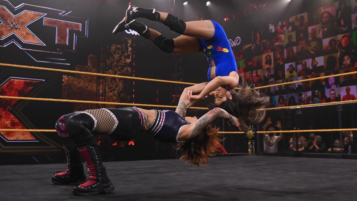 Rita Reis estreia no WWE NXT com novo nome e personagem