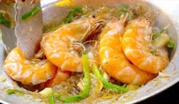 Street Foods Compilation – Casseroled Shrimp King Prawns with Glass Noodle, Strawberry Crepe CoCo