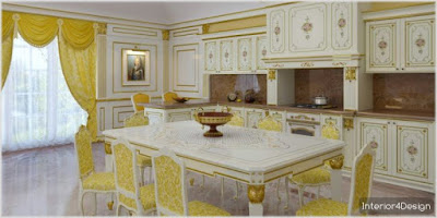 Classic Kitchen Decorations for Luxury Homes 9