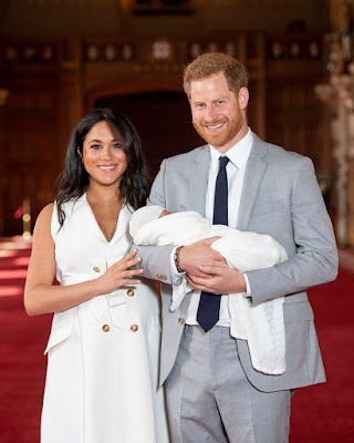 Photos of Meghan Markle and Prince Harry's son Baby Sussex