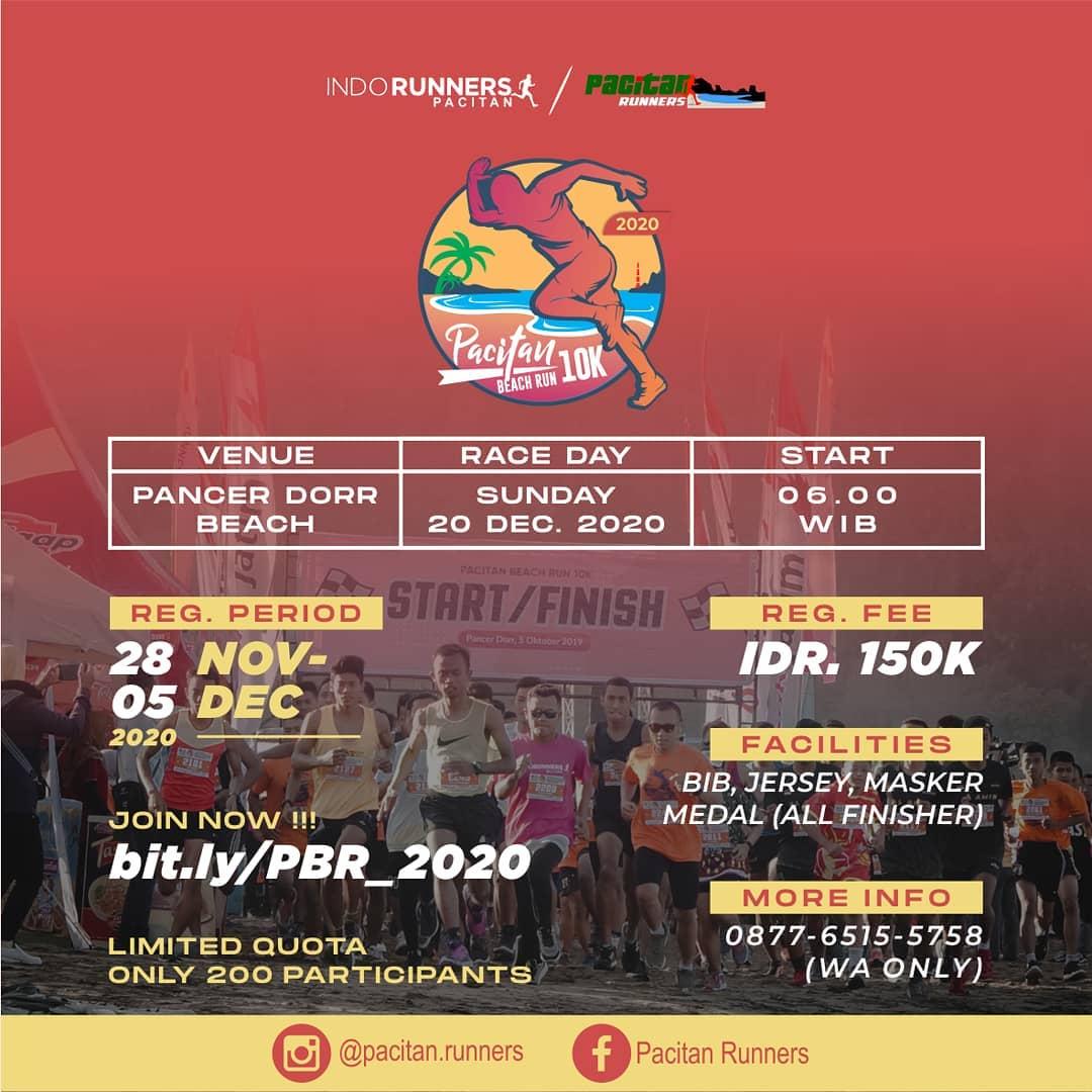 Pacitan Beach Run 10K • 2020