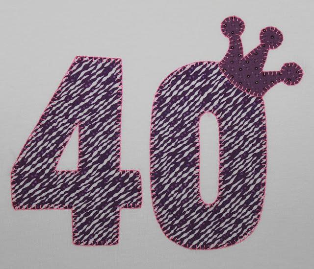 camiseta cumpleaños 40 años
