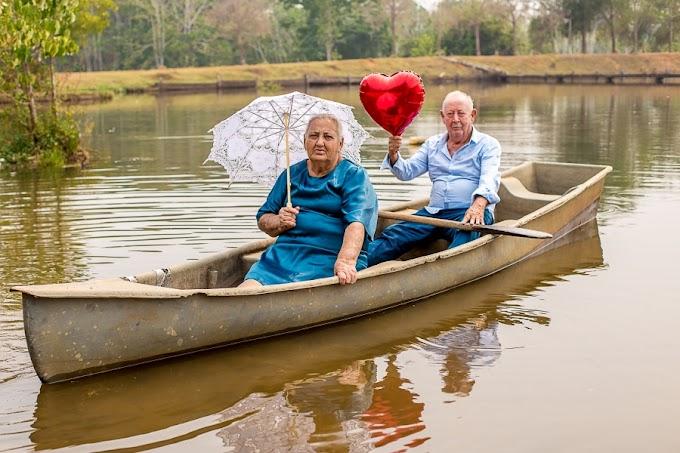 Em Rondônia, casal celebra 60 anos de casamento com lindo ensaio fotográfico