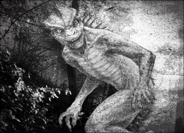 O povo lagarto do subterrâneo de Los Angeles