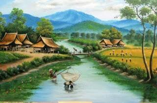 suangai sungai jaman dahulu penuh dengan ikan