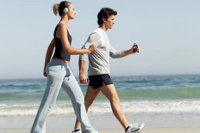 La marcha o el running son ejercicios aeróbicos, deporte y salud