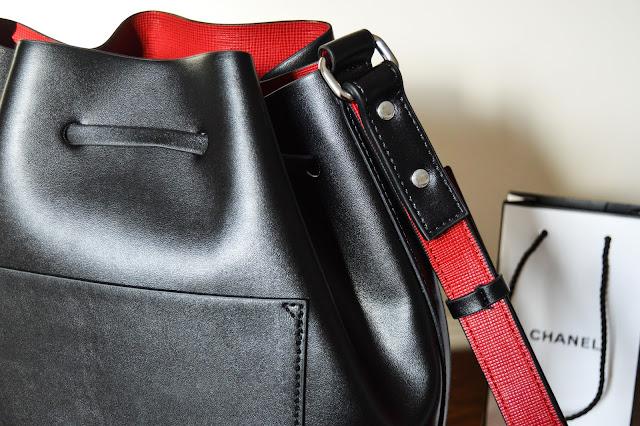 Mansur Gavriel Leather Bucket Bag Dupe