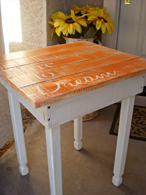 DIY Coffee Tables with wood pallet