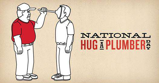 National Hug a Plumber Day Wishes Photos