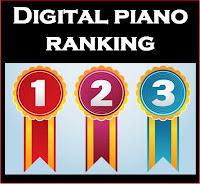 Digital Piano ranking chart