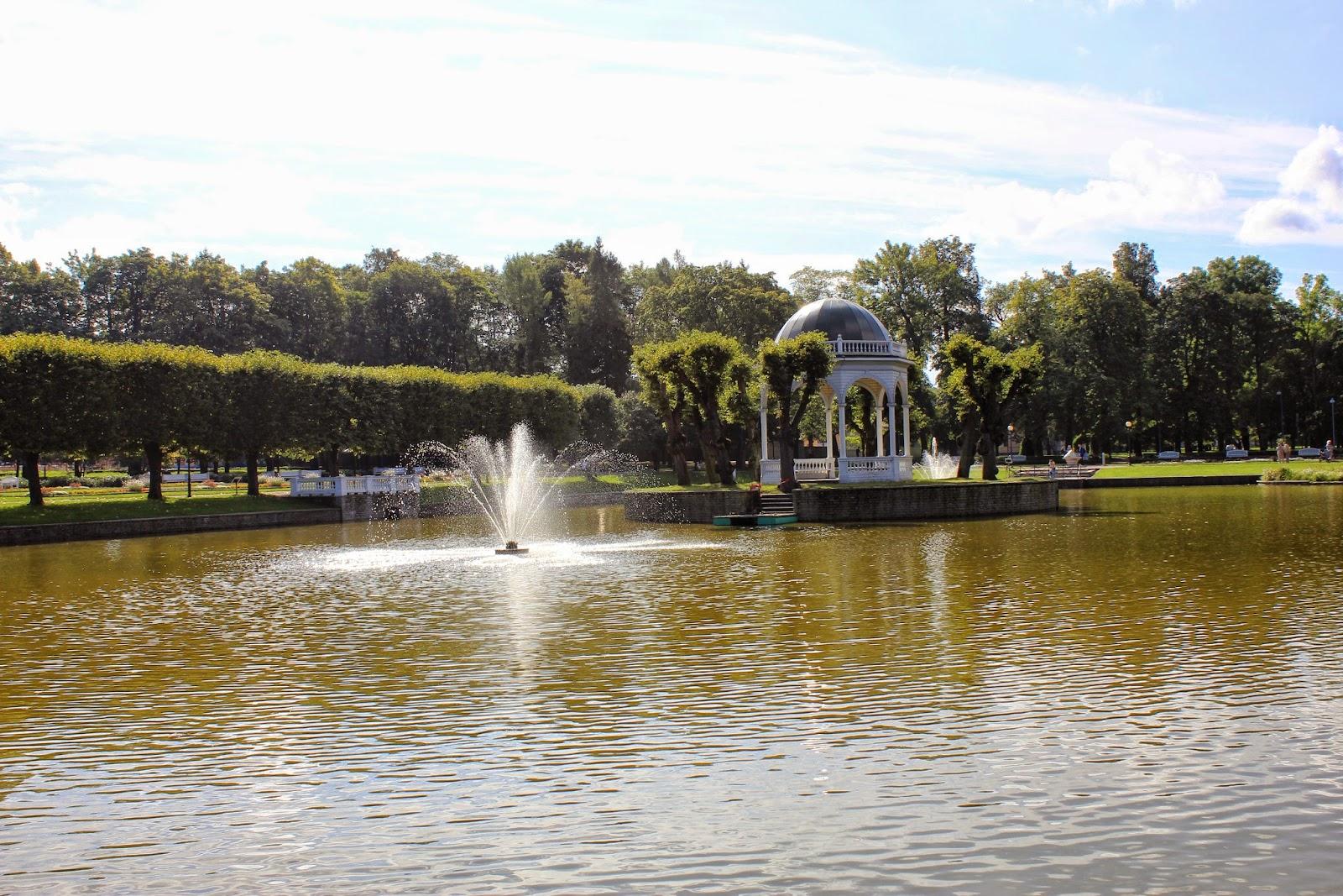 Tallin ogrody prezydenckie