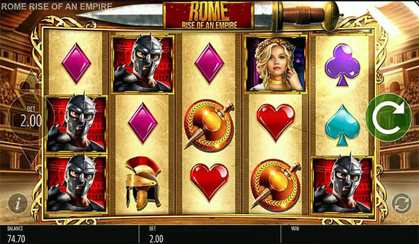 Main Gratis Slot Indonesia - Rome Rise of an Empire (Blueprint Gaming)