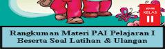 Materi  PAI Kelas 2 SD Pelajaran 1 Semester I Nabi Muhammad SAW Teladanku