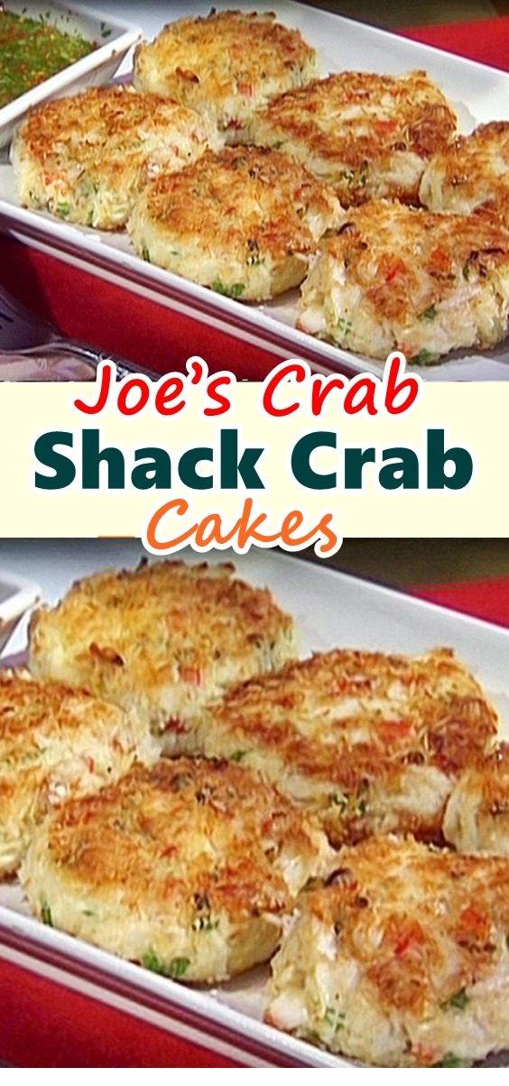Joe's Crab Shack – Crab Cakes!