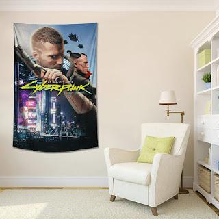 Cyberpunk 2077 Wall Art