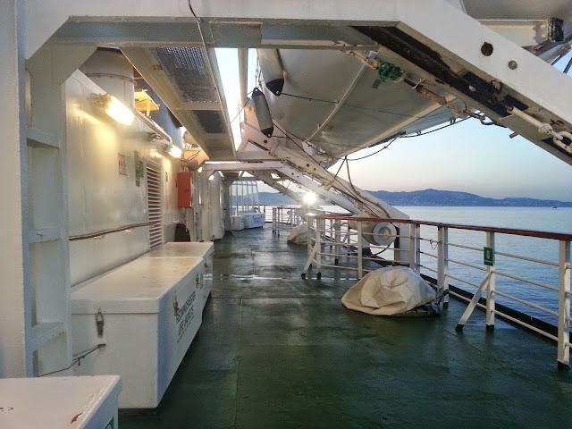 Hurtigruten MS Lofoten - Boat Deck