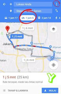 Cara setting maps untuk motor