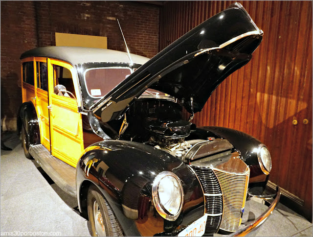 """Lookin' East: Art and Imagination of the New England Hod Rod"": 1940 Ford Woodie Sleeper"