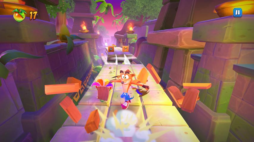 Crash Bandicoot On the Run is now available for Android devices