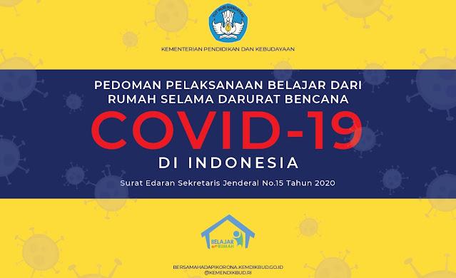 Update: Pedoman Belajar Dari Rumah Dimasa Pandemi COVID-19