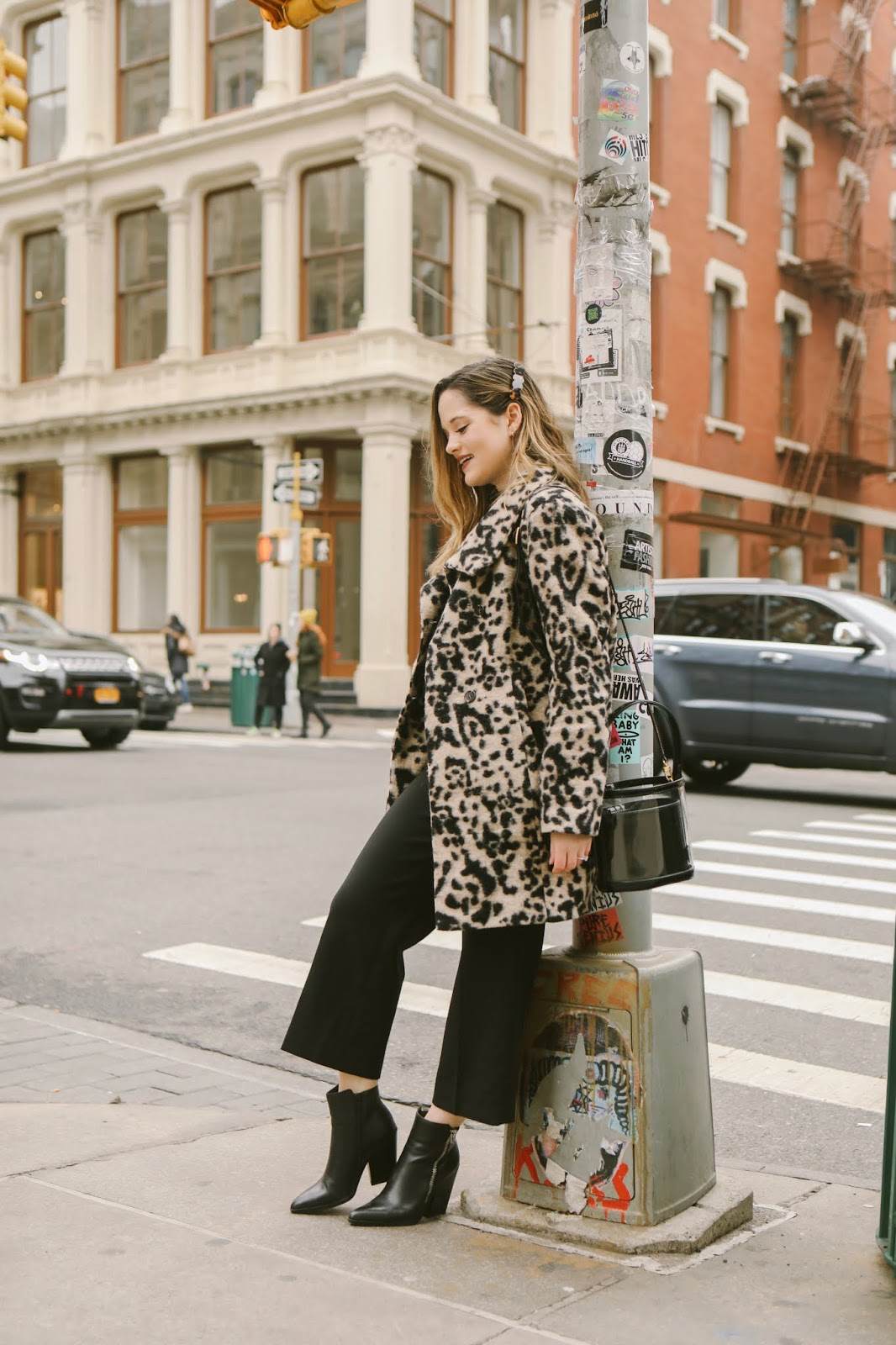 Nyc fashion blogger Kathleen Harper's winter street style.