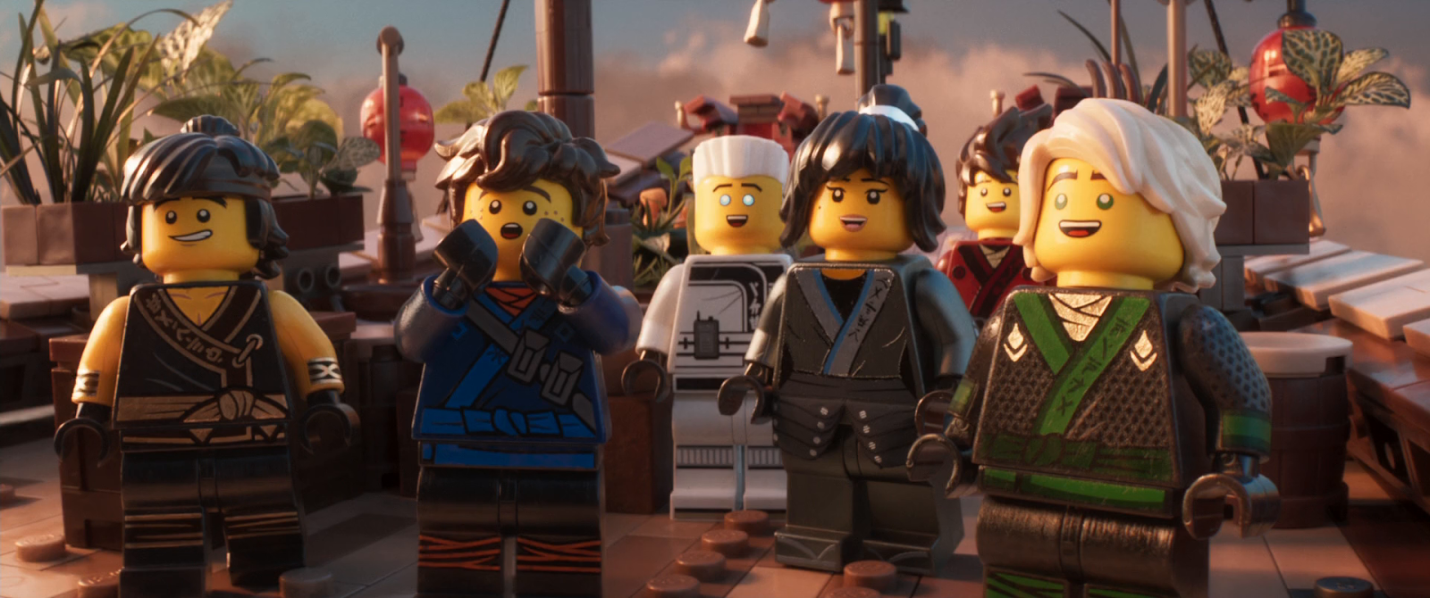 Lego Ninjago: La película (2017) BRRip 1080p Latino - Ingles captura 4