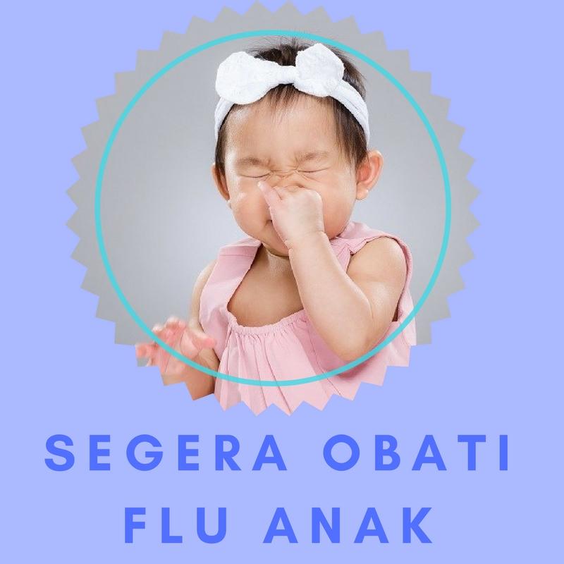 cara atasi flu anak