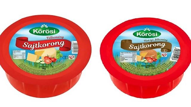 Visszahívják a kereskedelmi forgalmazásból a  Kőrösi sajtkorongot