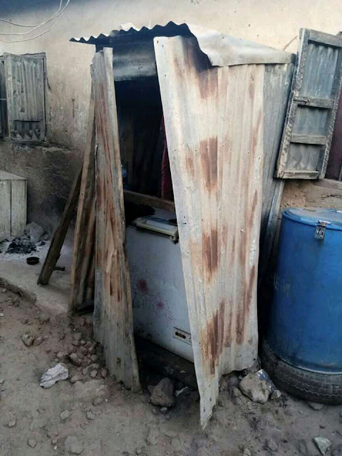 Sokoto police rescue a 12-year-old girl who was caged and starved for 8 months (photos)