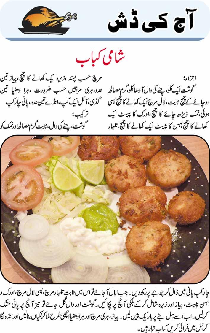 Daily Cooking Recipes In Urdu Shami Kabab Recipe In Urdu