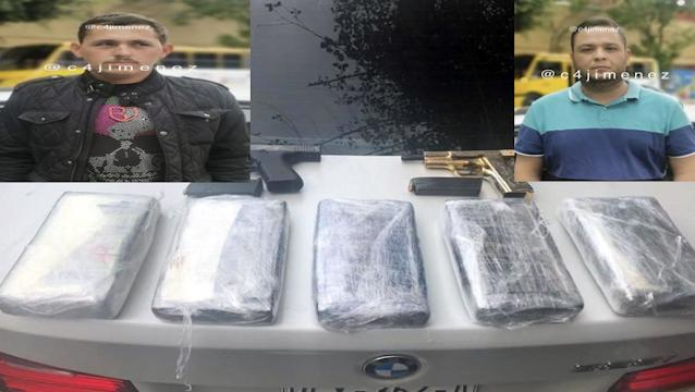 Capturan en Polanco a 2 Sicarios del Cartel de Sinaloa con auto BMW, Arma de Oro y 5 kilos de Coca, informan le reportan al Mayo Zambada