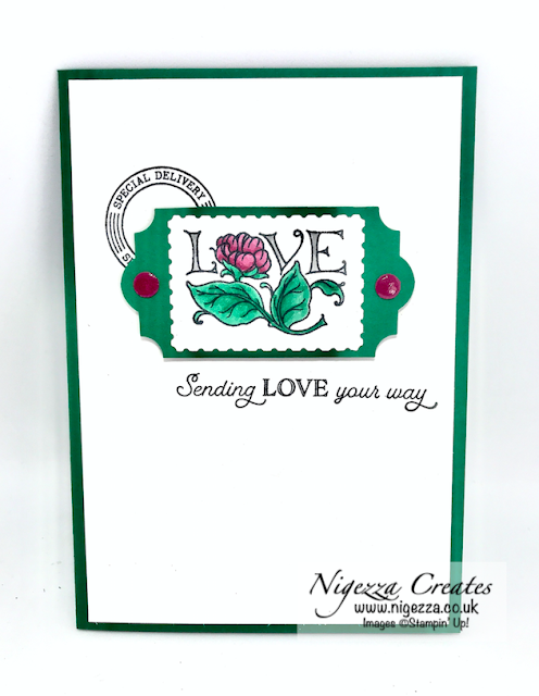 Nigezza Creates with Stampin' Up! Posted For You Bundle