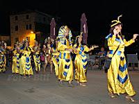 Ljetni karneval, Postira otok Brač slike