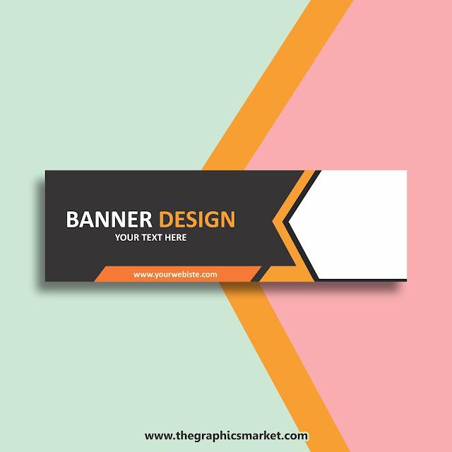 website banner design template download