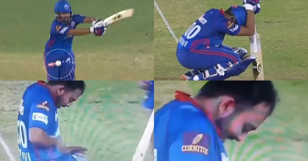 Prithvi shaw funny moment in IPL