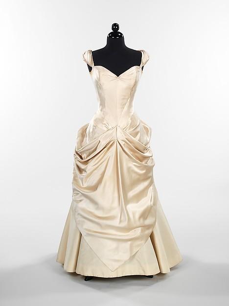 Inspiration pour robe de mariée,Charles James, 1948-49