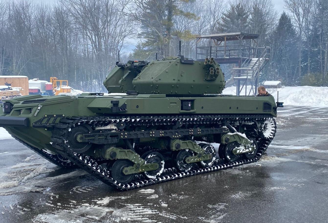 Армія США отримала четвертрого робота Ripsaw M5