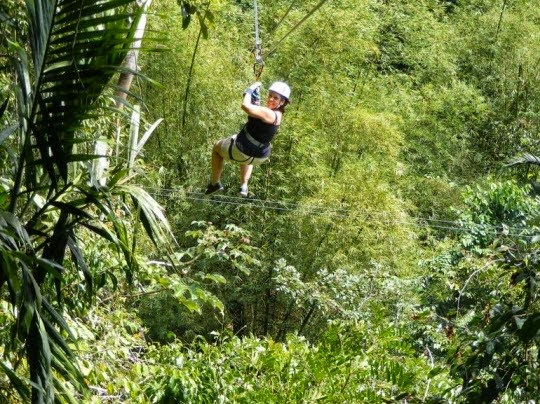 ONE DAY IN THE AMAZON RIVER BASIN   Canopy glide in Amazon