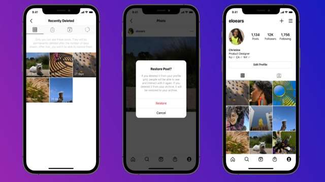 Instagram has added a rich feature, now you can see deleted post
