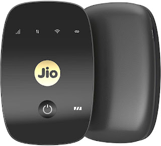 JioFi 4G Hotspot M2S 150 Mbps Jio 4G Portable Wi-Fi Data Device