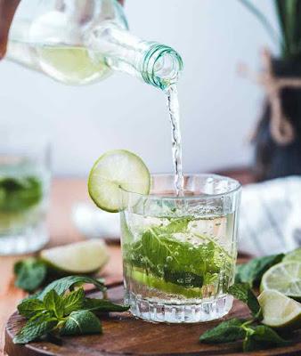وصفات للمياه المنكهة