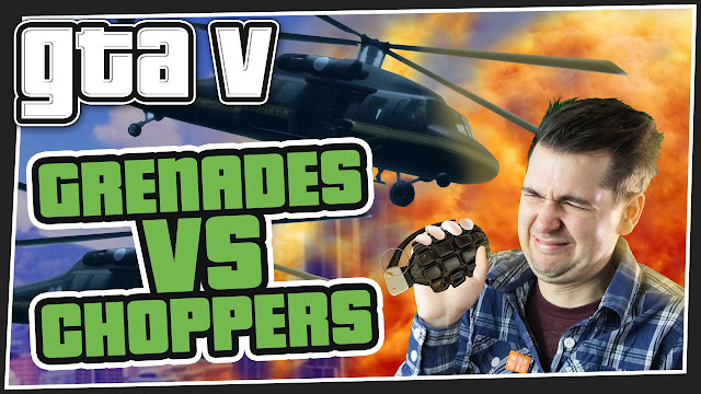 Choppers vs Grenades! - GTA 5 Online