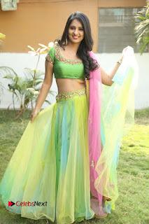 Actress Nikitha Bisht Stills in Lehenga Choli at Pochampally Ikat Art Mela Launch  0365.JPG