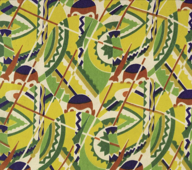 Art Deco Textiles In America Part 1 Africana Prints And Non Western Influences The Fashion Historian