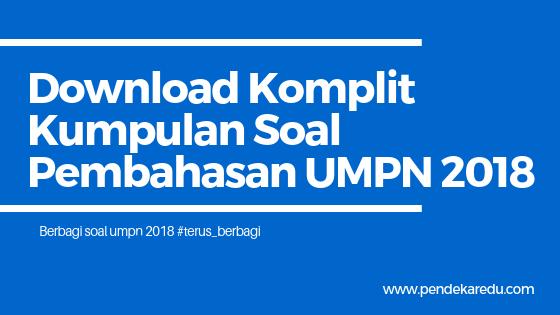 The latest tweets from polmed (@polmed_official). Download Komplit Kumpulan Soal Pembahasan Umpn 2018 Soal Umpn 2018 Pendekar Edu