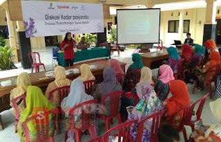 LSM Pattiro Surakarta Beri Pelatihan kewirausahaan Kepada Kader Posyandu