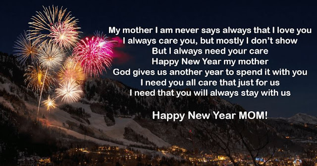 Happy New Year 2020 Wishes Quotes for Mom & Each Mother