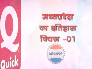 MCQ MP GK IN HINDI