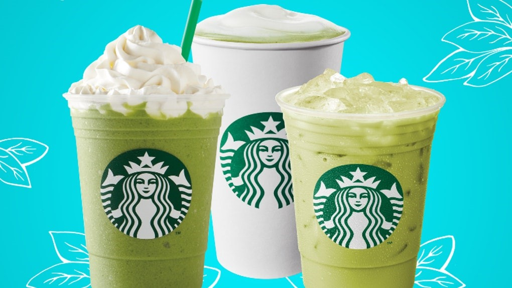 Matcha Green Tea @Starbuck